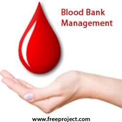 Oracle Free Project Blood Bank Management System