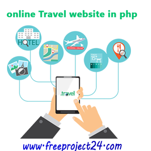 php online Travel Website with Source Code