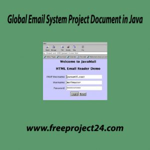 Global Email System Project Document in Java