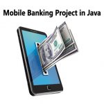 Mobile banking project in java